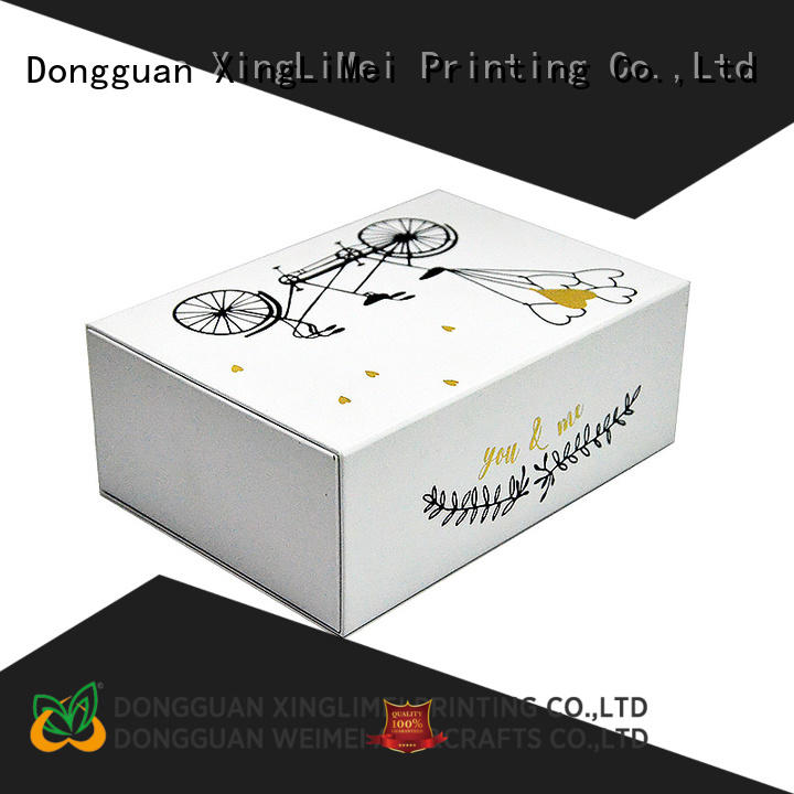 XingLiMei Customized custom printed boxes for weddings for gift