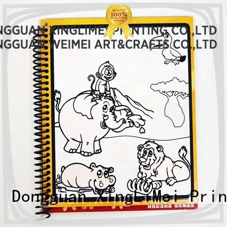 XingLiMei magic reusable water coloring book supplies for interaction