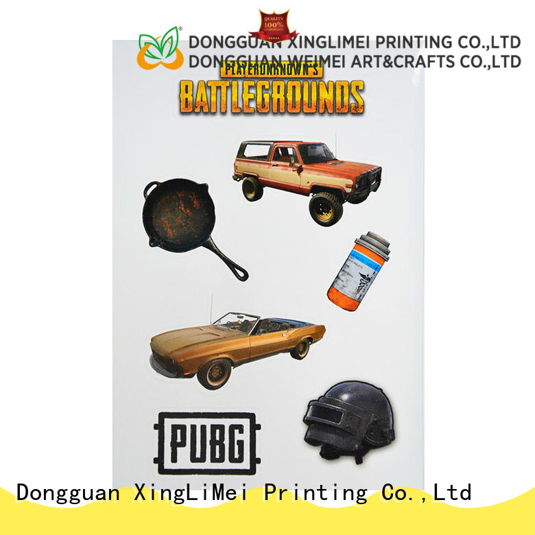 XingLiMei custom label custom puffy stickers creator for Hoverboard