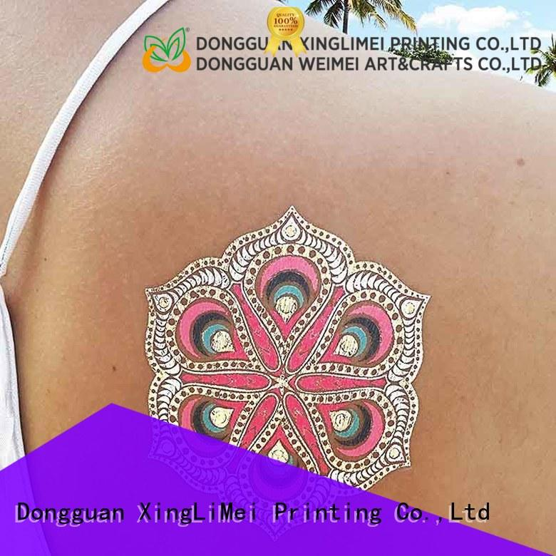 star temporary jewelry tattoos makeup supply for necklace