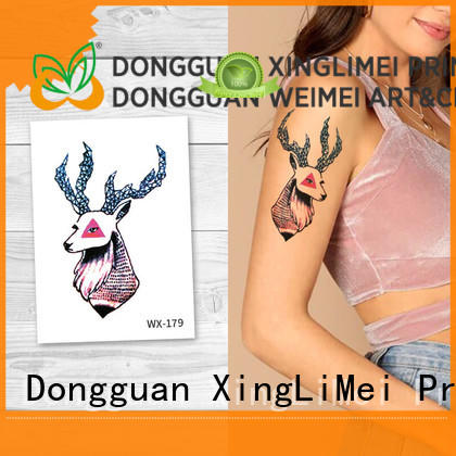 XingLiMei wrist non-toxic temporary tattoos for girls for decorative