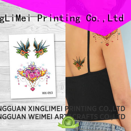 XingLiMei legs water transfer tattoos prices for decorative