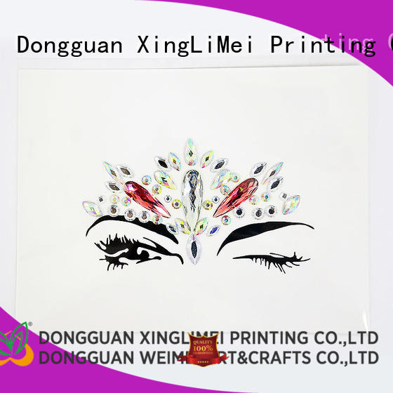 XingLiMei customized stickers printing stickers for Floor