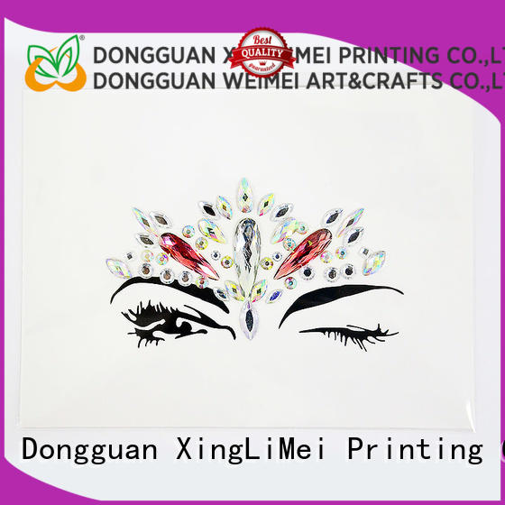 XingLiMei puffy custom made stickers online for wall
