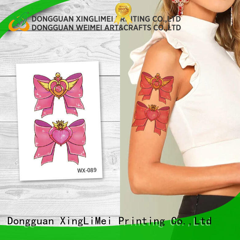 XingLiMei fake animal temporary tattoos quotes for decorative