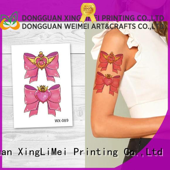 XingLiMei art art temporary tattoos for women for wedding
