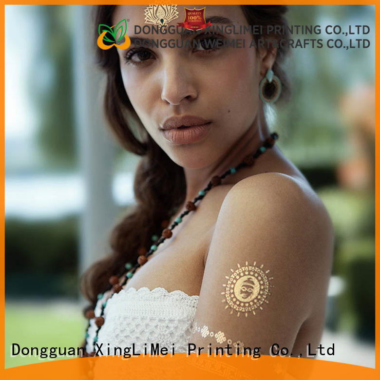 XingLiMei cosmetic temporary jewelry tattoos patterns for beauty