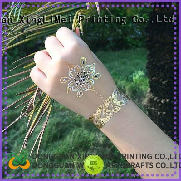 star custom gold temporary tattoos patterns for beauty