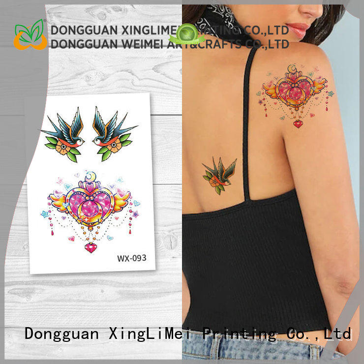 XingLiMei artificial tattoo for girls for decorative