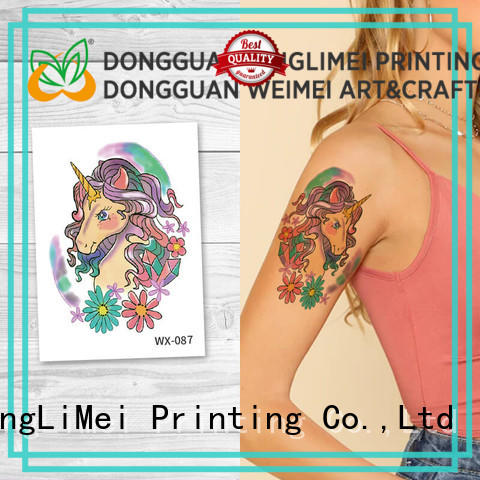 fashion temporary tattoos water factory price for beauty