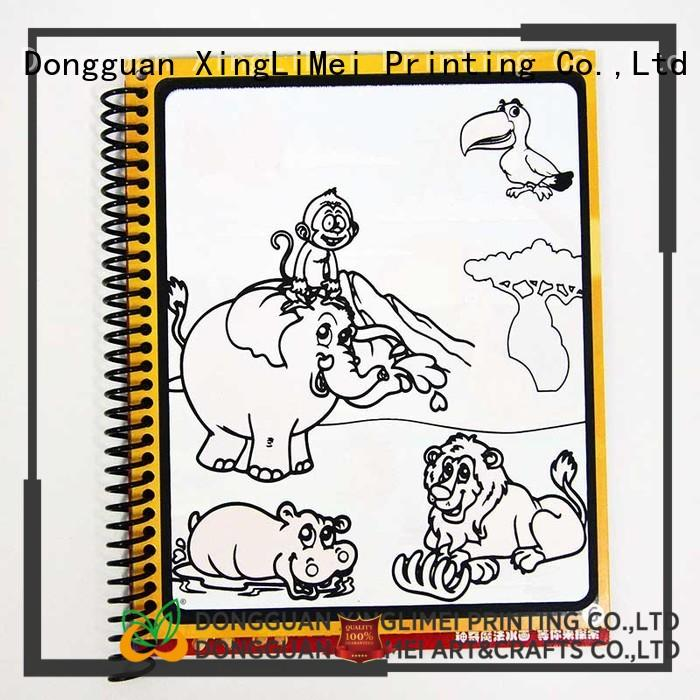 customized water coloring books educational non-toxic for parent-child