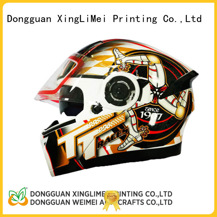 XingLiMei helmet custom waterslide decals for beauty for decorated