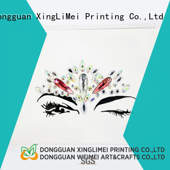 XingLiMei personal printable stickers wholesale for wall