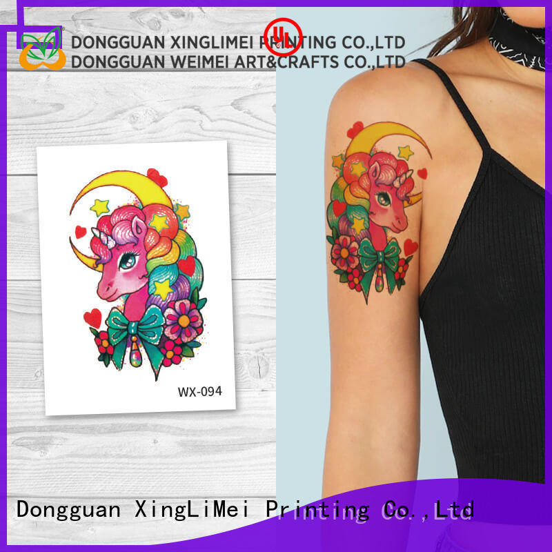 XingLiMei full color water transfer tattoos for women for beauty