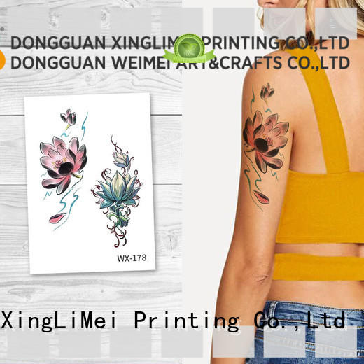 full color transfer tattoos art factory price for beauty