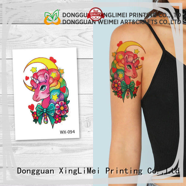 XingLiMei forearm artificial tattoo for girls for wedding
