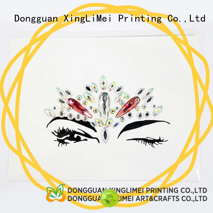 XingLiMei decoration printable stickers labels for bumper