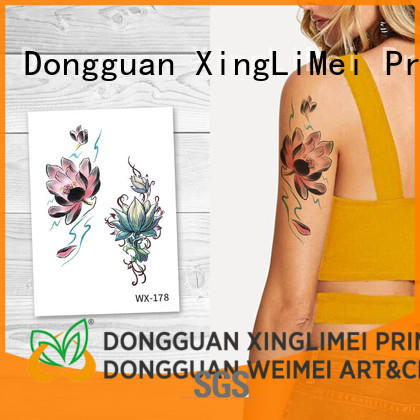 full color best temporary tattoos legs factory price for beauty