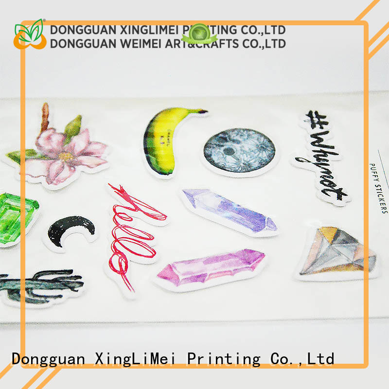 XingLiMei customized printable stickers creator for wall