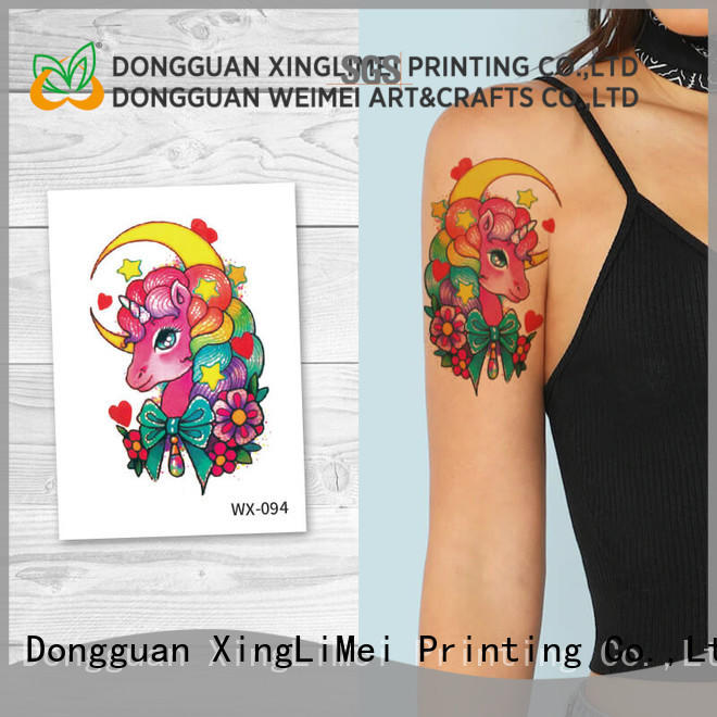 XingLiMei wrist sexy temporary tattoos factory price for decorative
