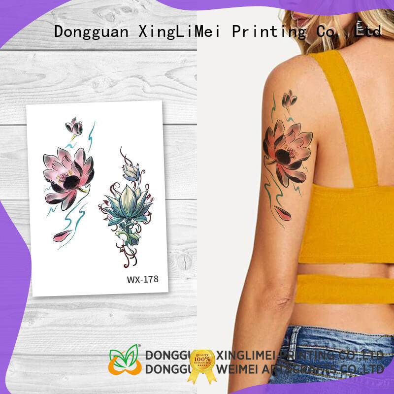 artificial tattoo water art XingLiMei