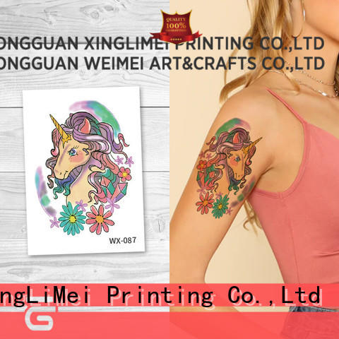 XingLiMei arms color temporary tattoos for adult for wedding