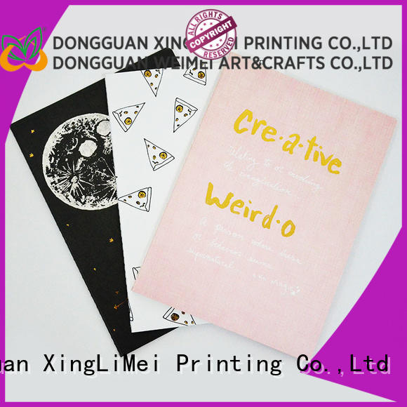 quality custom book printing notes for work XingLiMei