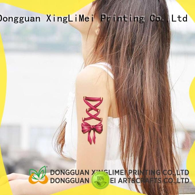 transfer glow in the dark temporary tattoos factory hands XingLiMei