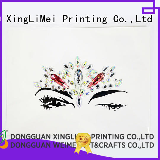 XingLiMei jewel stickers printing online for Floor