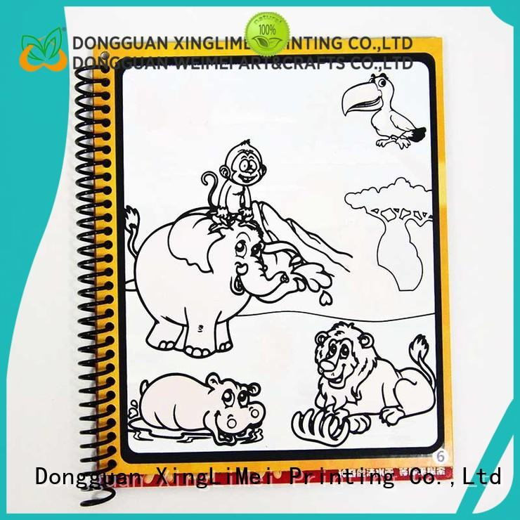 magic water colouring book design for parent-child XingLiMei