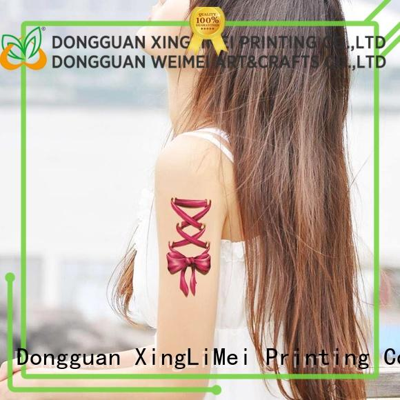 XingLiMei transfer custom temporary tattoos for sale for hands