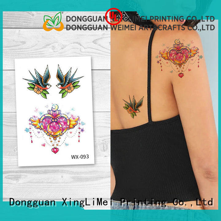 XingLiMei art body art temporary tattoos for women for wedding