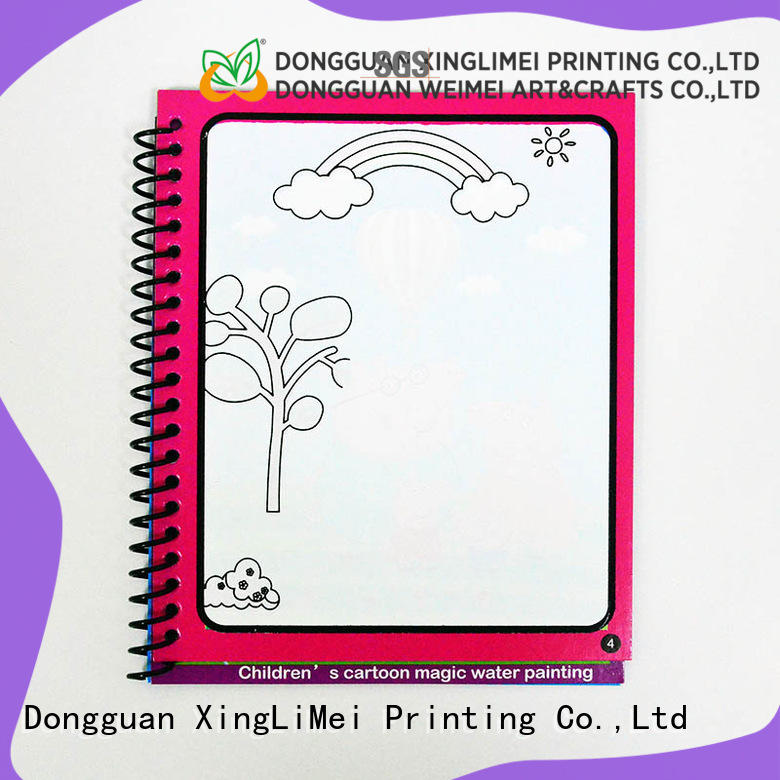 XingLiMei books magic water colouring book for toddlers for lesson