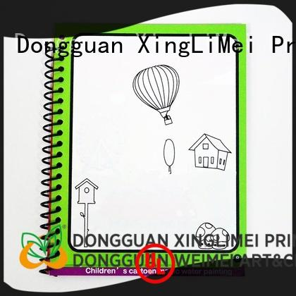 water colouring book water parent-child interaction XingLiMei