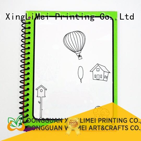 XingLiMei painting reusable water coloring book wholesale for family