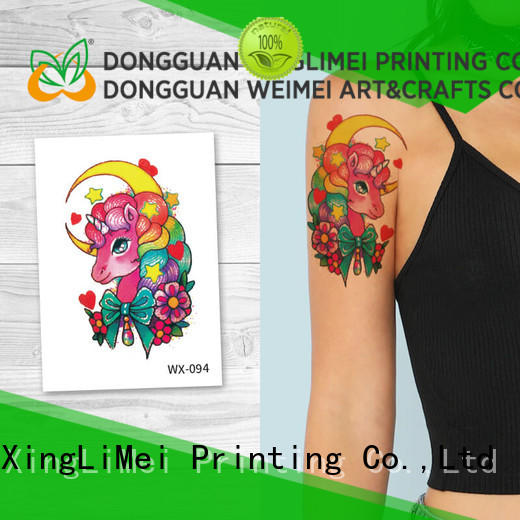 full color color temporary tattoos color factory price for beauty