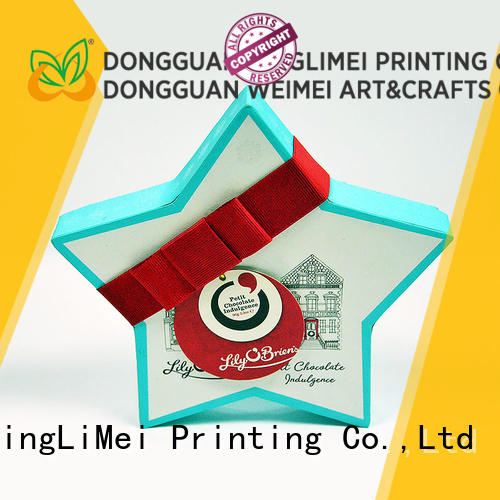 Recycle materials custom printed boxes logo supplier for friends