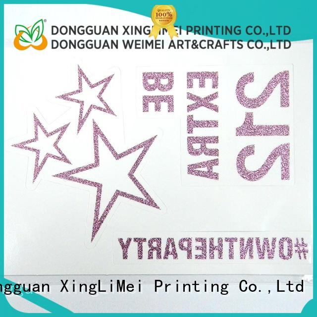 XingLiMei nontoxic custom made temporary tattoos online for make up