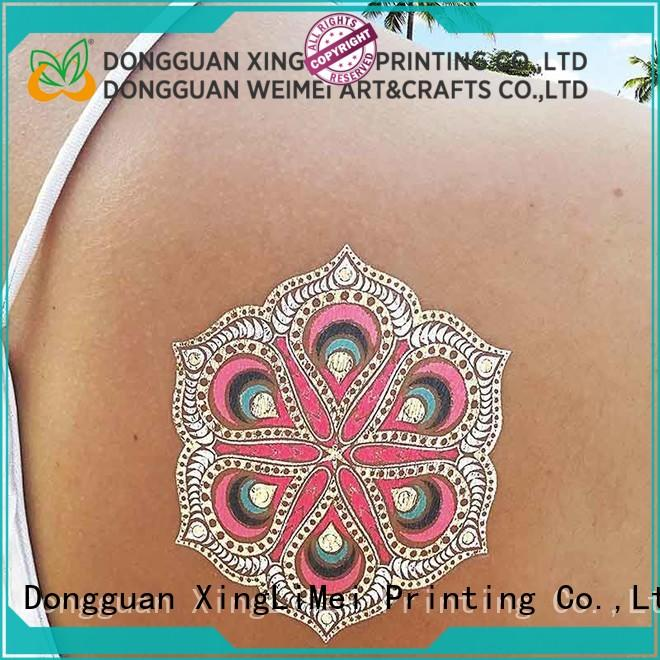 star metallic body tattoos jewelry supply for beauty
