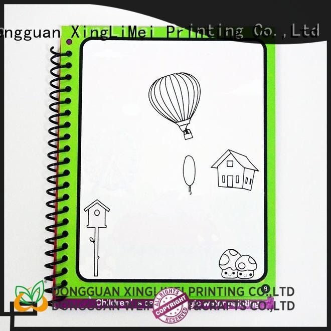 XingLiMei magic magic water colouring book non-toxic for lesson