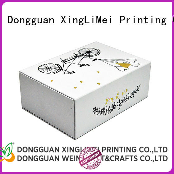 XingLiMei high quality custom packaging boxes christmas for friends