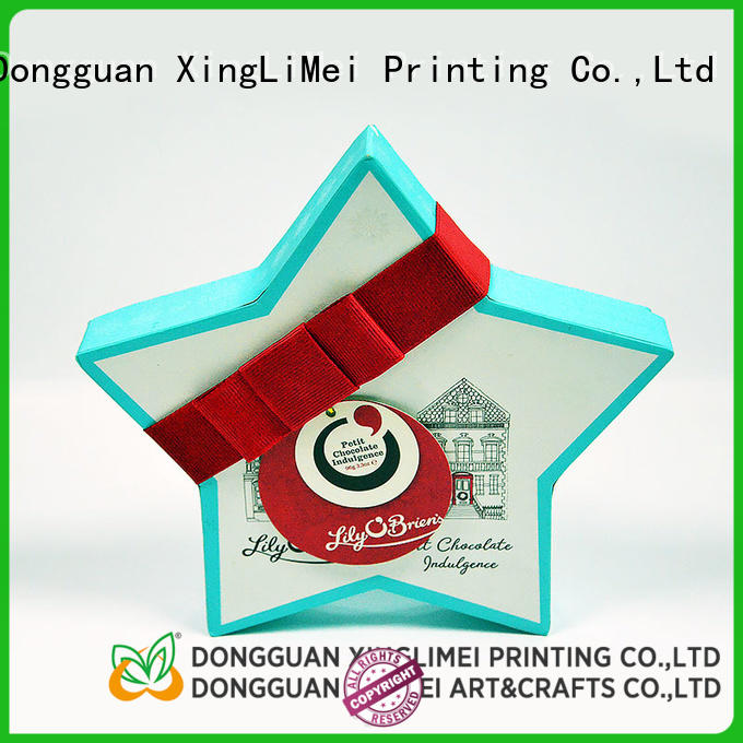 XingLiMei gift custom printed boxes christmas for friends