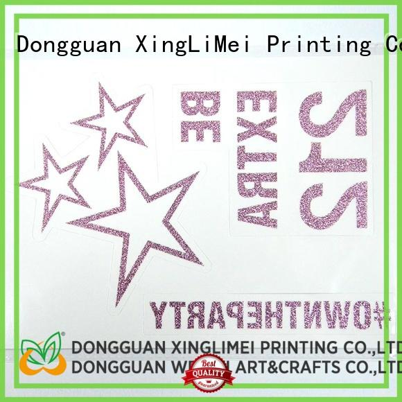 XingLiMei color neon tattoo stickers for wedding