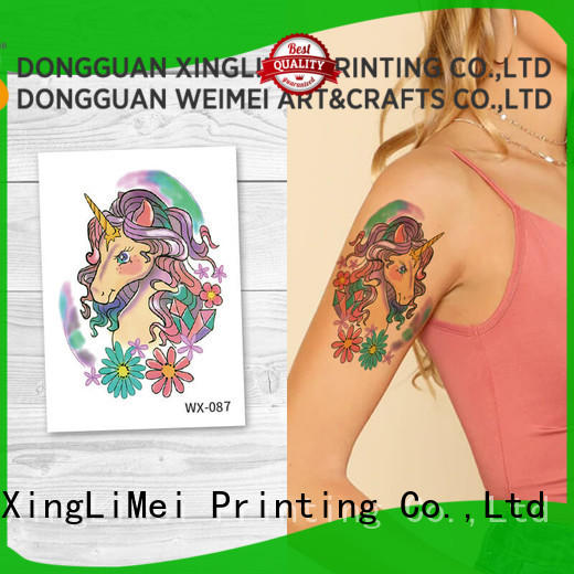 back best temporary tattoos for adult art XingLiMei
