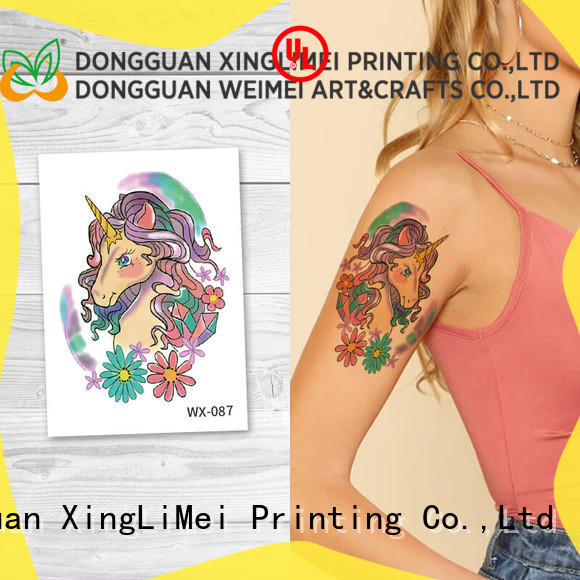 XingLiMei wrist sexy temporary tattoos quotes for party