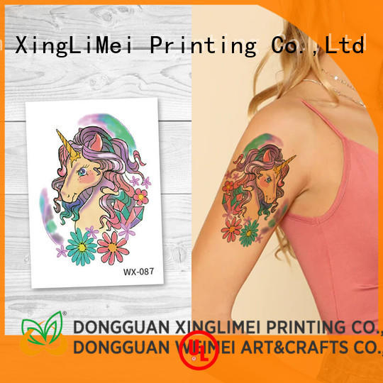 full color water transfer tattoos factory price for party