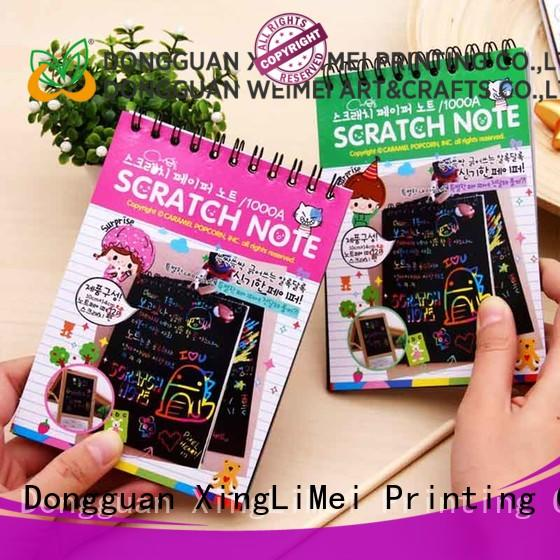 safe scratch art paper magic for kids for handcraft