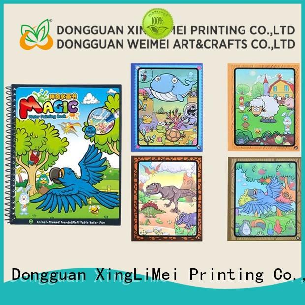 XingLiMei Reusable water colouring book for toddlers for school