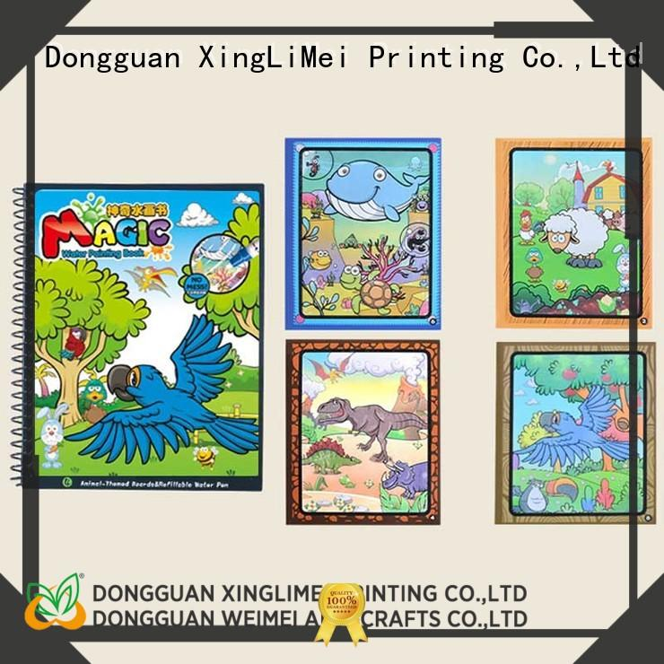 XingLiMei animal magic water coloring book wholesale for family