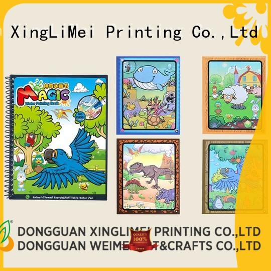 XingLiMei reusable water coloring books wholesale for lesson